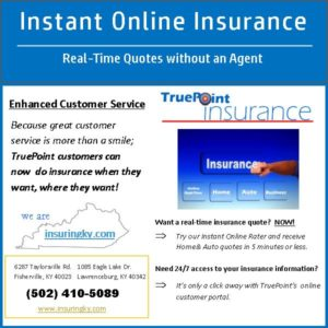 Instant online insurance quotes in real-time from a real insurance agency