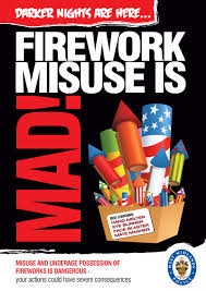 Be prepared to be uninsured if you don't know your do's and don'ts about fireworks