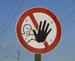 STOP! VERY LOUD STOP!