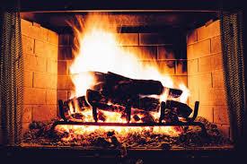 Fireplace, winter hazard
