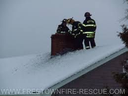 Ignore chimney safety and it won't be Santa on your roof.  Poor Chimney safety may lead to a visit from the fire department.