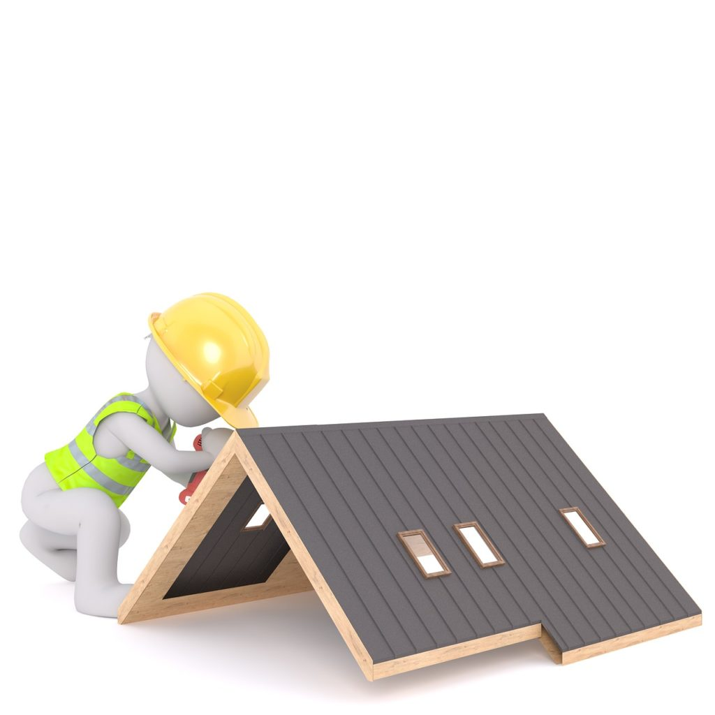 High Roofs!  Steep Roofs!  The workplace for roofers is an open invitation to an accident.