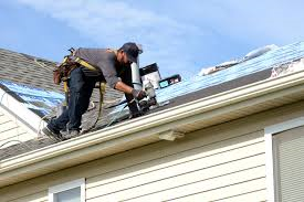 Why is roofers insurance high?   High and Sloped roofs open the door for gravity to do damage.