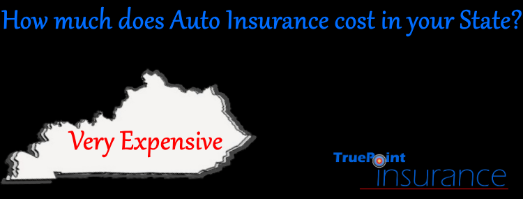 Buying car insurance in Kentucky is expensive.  Only five states pay more to insure their autos.