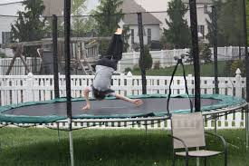 Trampolines can clutter your yard, and that's the nicest thing we have to say.
